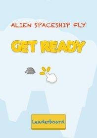 Alien Spaceship Fly