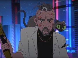 Илья Найшуллер снял для «Ленинграда» анимационный клип встиле киберпанк