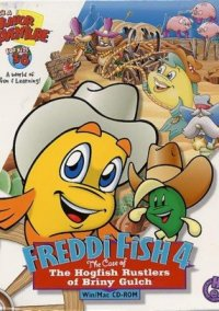 Freddi Fish 4: The Case of Hogfish Rustlers of Briny Gulch – фото обложки игры