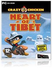Crazy Chicken: Heart of Tibet – фото обложки игры