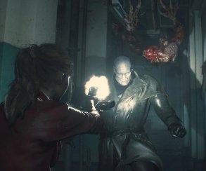 Клэр иАда против устрашающего Т-00 вновом геймплее ремейка Resident Evil2 [обновлено]