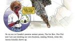 По«Дэдпулу 2» выйдет совсем недетская книжка силлюстрациями, нополучить еенетак просто. - Изображение 3