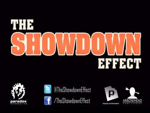 The Showdown Effect. Дневники разработчиков