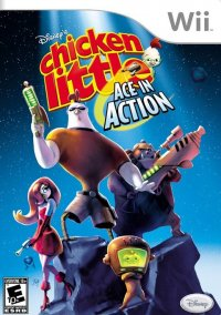 Disney's Chicken Little: Ace in Action – фото обложки игры