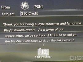 Sony раздает деньги подписчикам PSN