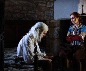 Геральт спасает Трисс Меригольд отбандитов впервой части порнопародии на«Ведьмака»