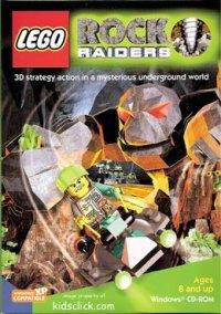 LEGO Rock Raiders – фото обложки игры