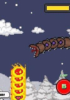 Super Mega Worm Vs. Santa