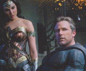 Бэтмен, Чудо-женщина иАквамен насвежих кадрах сосъемок «Лиги справедливости»