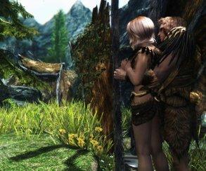 Гифка дня: как нестоит знакомиться сдевушкой в The Elder Scrolls 5: Skyrim