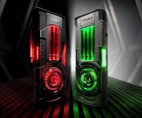Дайте две! Nvidia представила видеокарты Titan Xp в стиле «Звездных Войн»