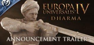 Europa Universalis IV: Dharma. Анонсирующий трейлер