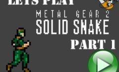 Lets Play Metal Gear 2. Часть 1