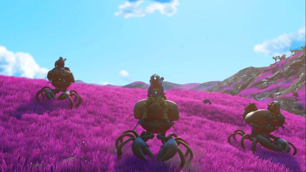 ВNoMan's Sky Beyond можно будет прокатиться нагигантских крабах!   Канобу - Изображение 1