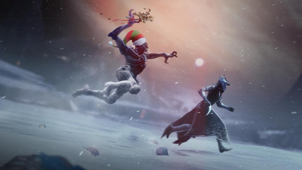 Издатели иразработчики поздравляют игроков сНовым годом иРождеством. Подборка открыток | Канобу - Изображение 6939