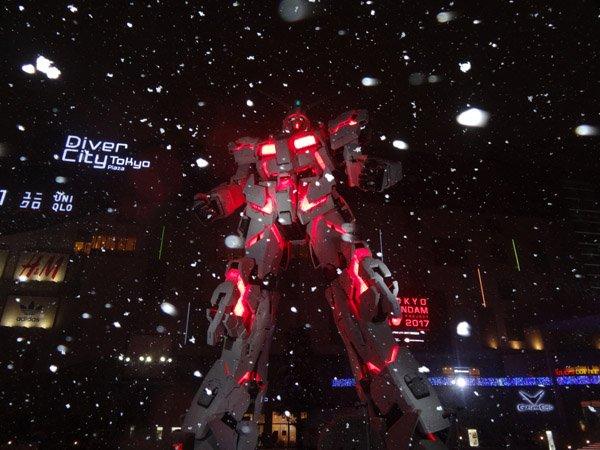 Такого выеще невидели! Японские гигантские боевые роботы вснегу. - Изображение 9