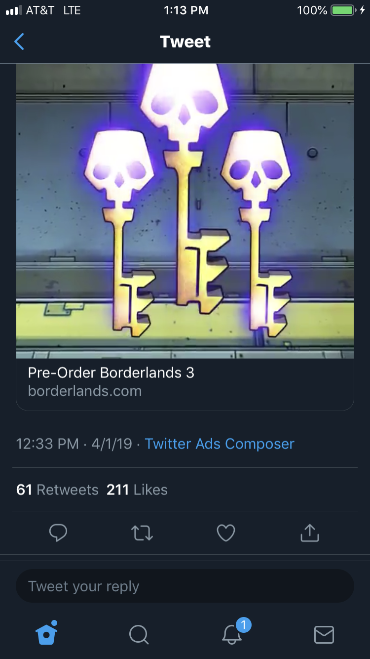 Утечка: стала известна дата выхода Borderlands 3. На ПК релиз состоится в Epic Games Store