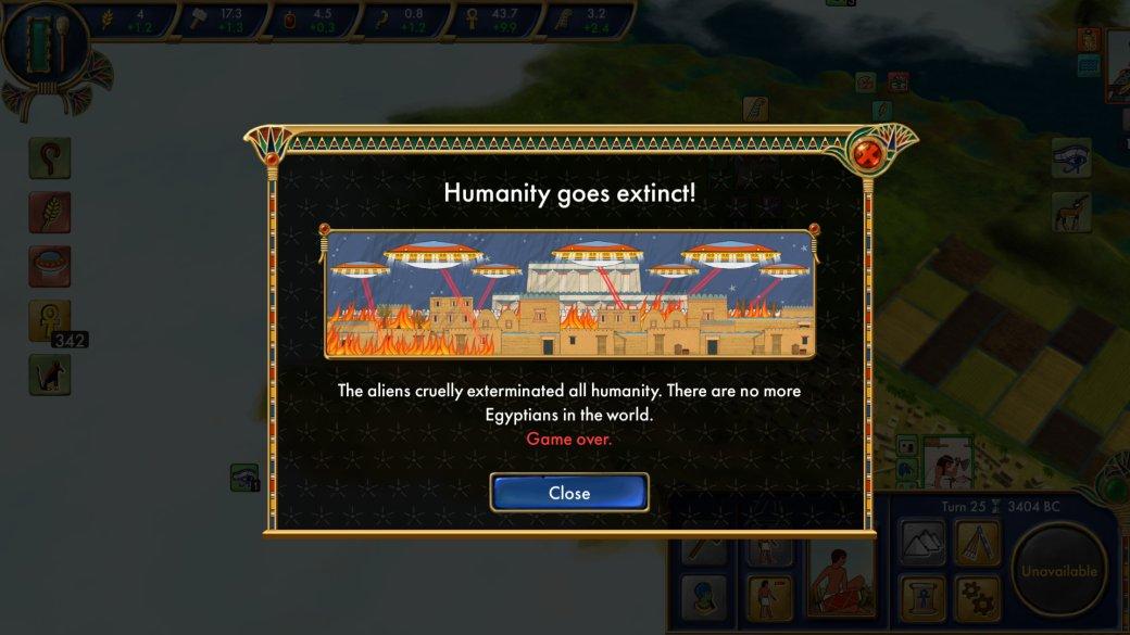 К аутентичной исторической стратегии Egypt: Old Kingdom вышло DLC про Нибиру и реплтилоидов. - Изображение 1