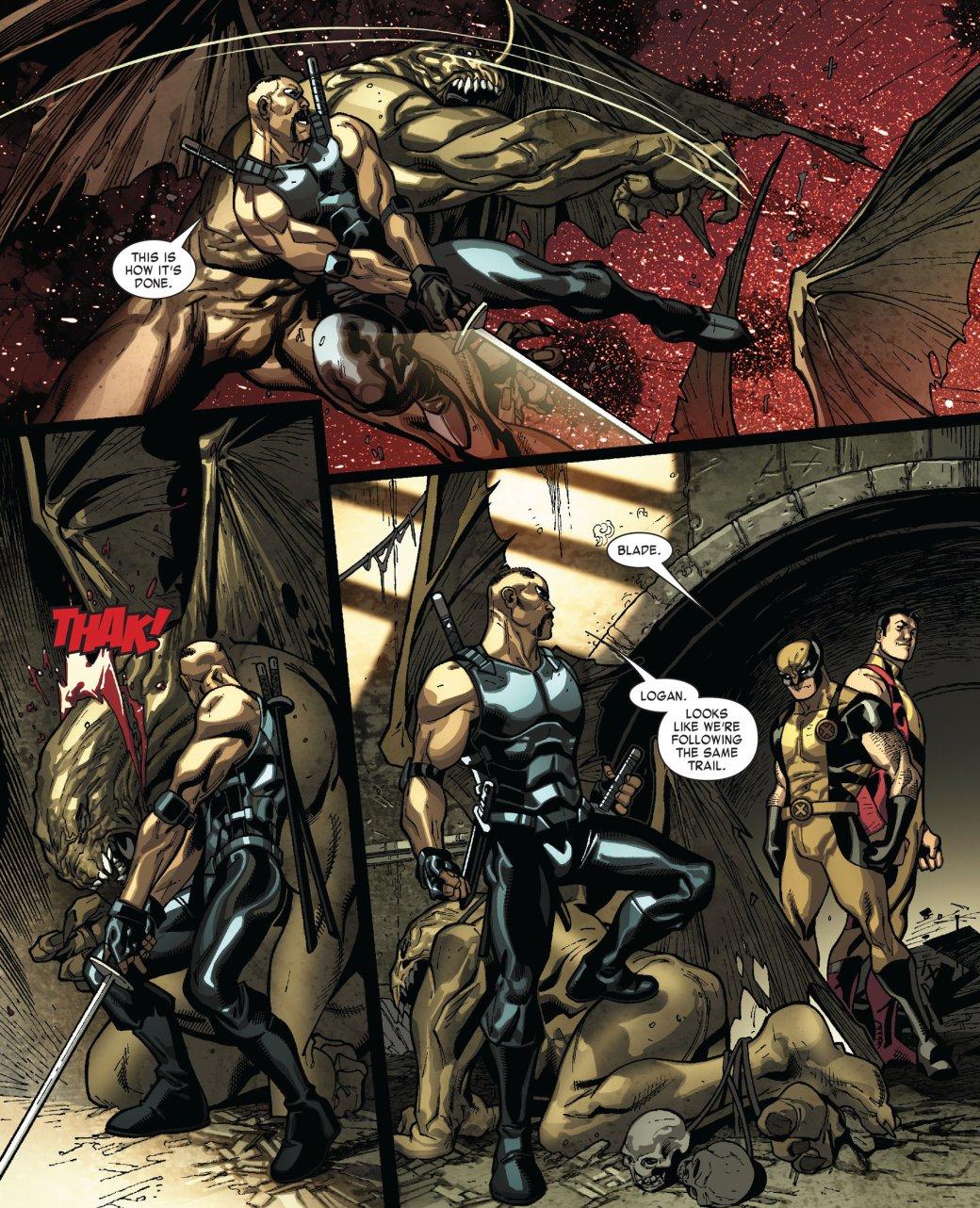 Кто такой Блэйд? Отохотника навампиров дочлена Мстителей исоюзника Людей Икс | Канобу - Изображение 146
