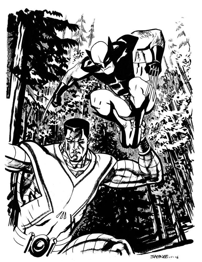 Супергерои Marvel и DC в рисунке Криса Сомни | Канобу - Изображение 8829