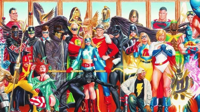 В«Черном Адаме» появится самая первая команда супергероев вистории