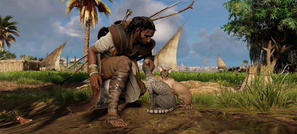 Гифка дня: позорное унижение вAssassin's Creed Origins | Канобу - Изображение 0