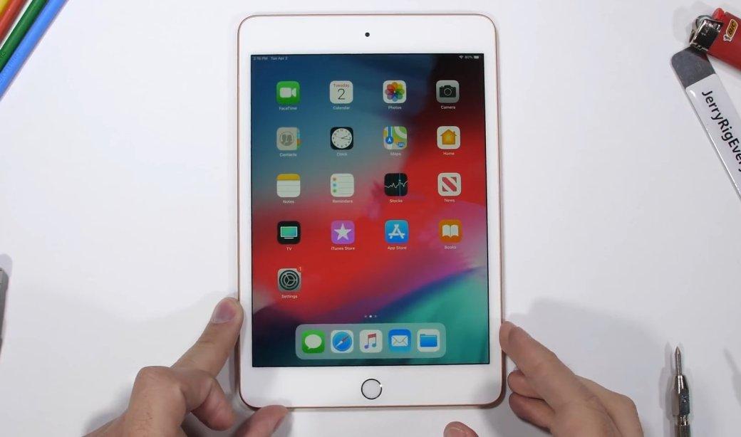 Мал да удал: iPad mini 5удивил всех в тесте напрочность | Канобу - Изображение 1