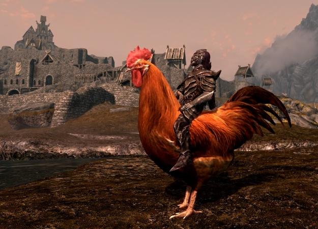 Сэтим модом вSkyrim можно кататься нагигантских курицах иутках. Почемубы инет | Канобу - Изображение 602