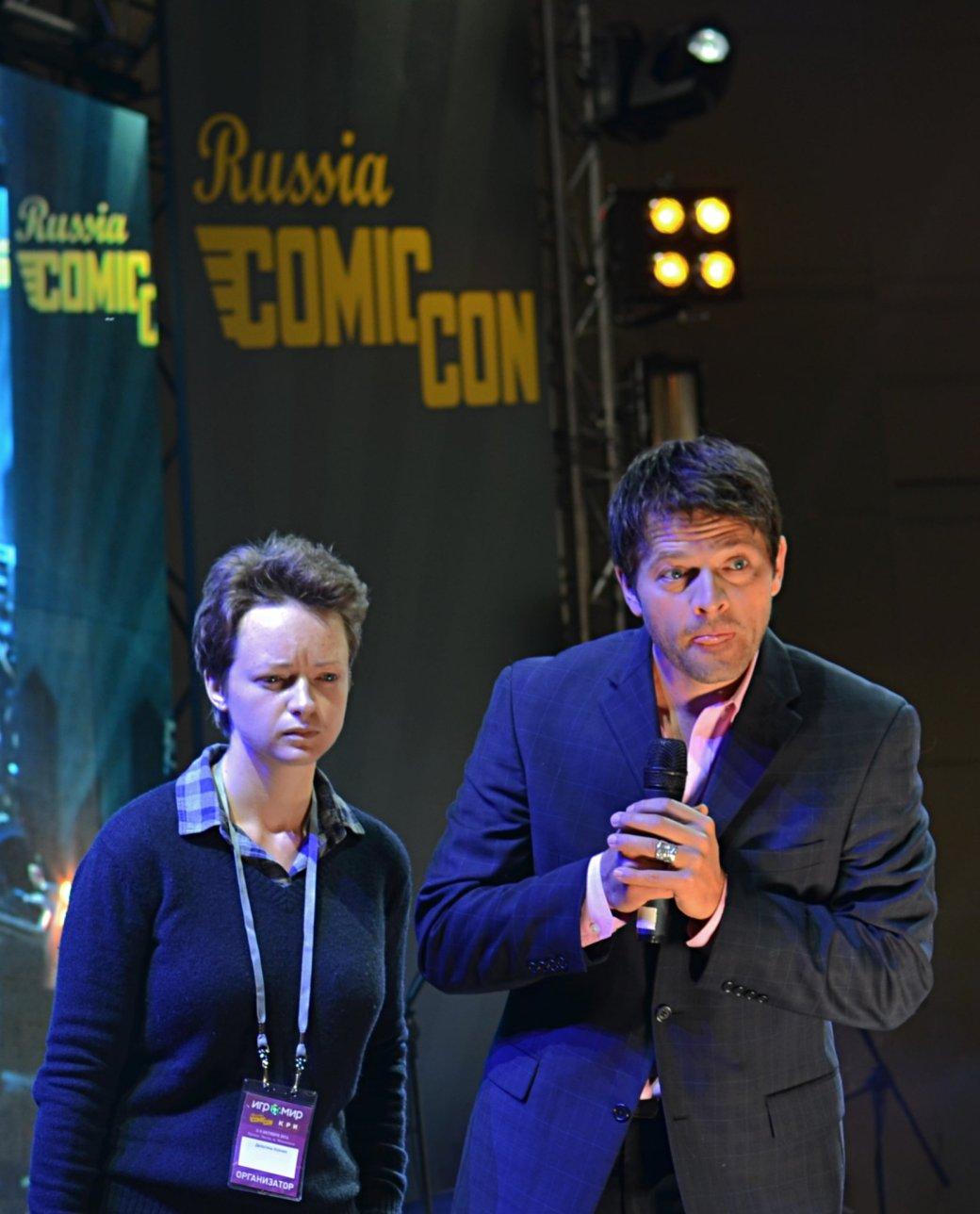 Фотоотчет с «Игромира» и Comic Con Russia, день 3 – Миша Коллинз | Канобу - Изображение 818