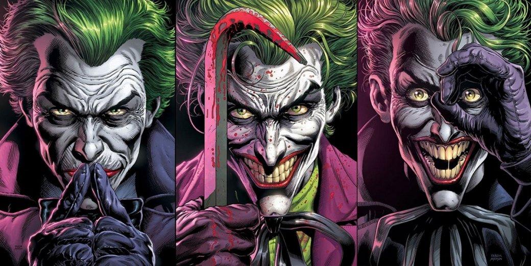 Три Джокера доставляют втрое больше проблем. Главный комикс DCэтого года наконец-то вышел   Канобу