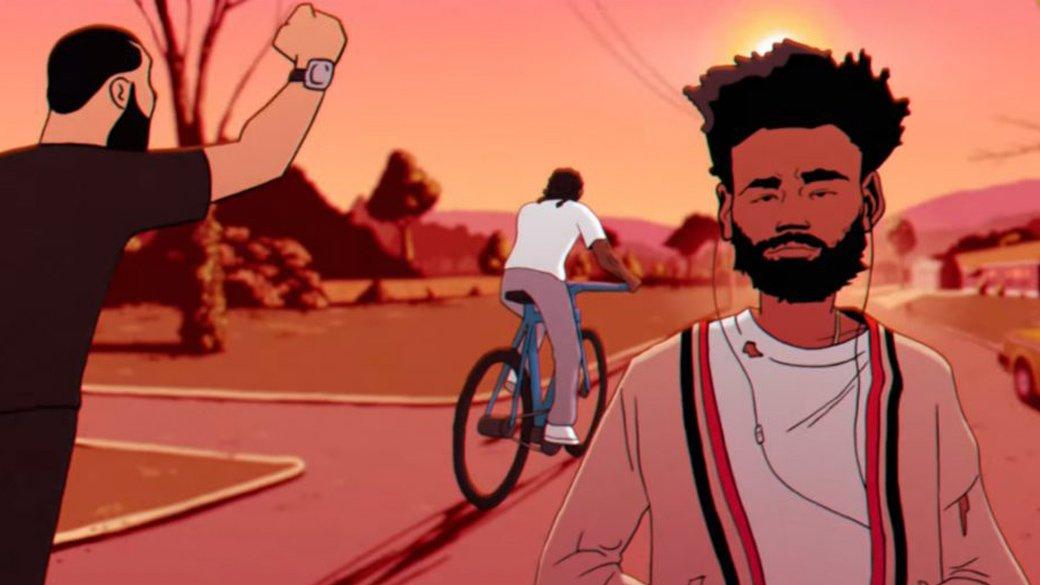 Уилл Смит, Дрейк, Рианна и другие звезды в новом анимационном клипе Чайлдиша Гамбино. Всех узнаете?