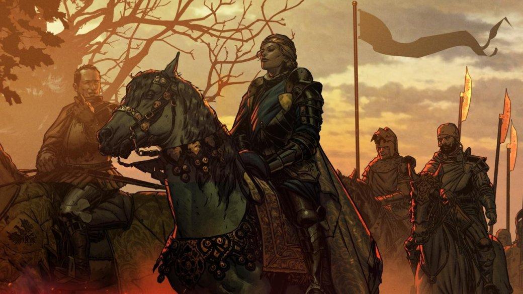 Карточные бои и сюжетные сцены в геймплейном трейлере RPG «Кровная вражда. Ведьмак. Истории» | Канобу - Изображение 1