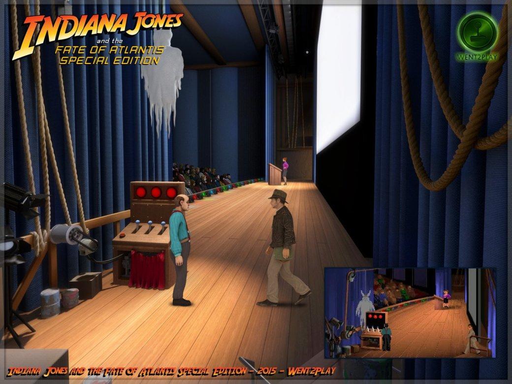 Lucasfilm попросила закрыть фанатский ремейк квеста про Индиану Джонса | Канобу - Изображение 11533