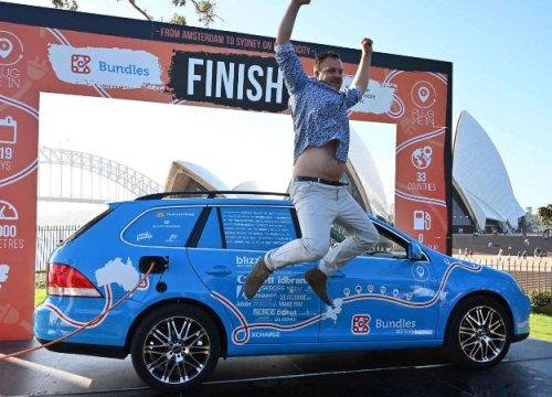 3 года и 300 долларов на зарядку: завершилось самое долгое кругосветное путешествие на электромобиле