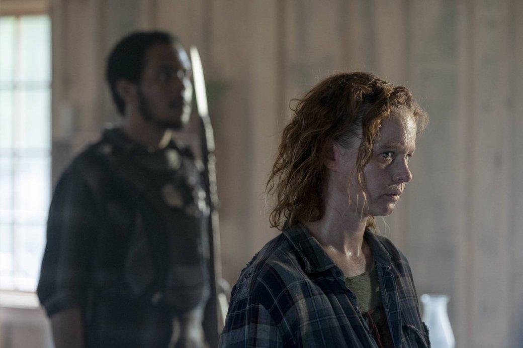 Что показали в10 серии 10 сезона «Ходячих мертвецов». Дэрил против Альфы и бойня в  Александрии   Канобу - Изображение 9732