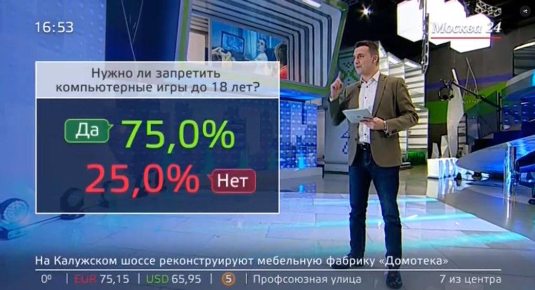 «Запретить компьютерные игры до18 лет». «Москва 24» выпустил сюжет про киберспорт иигроманию | Канобу - Изображение 2001