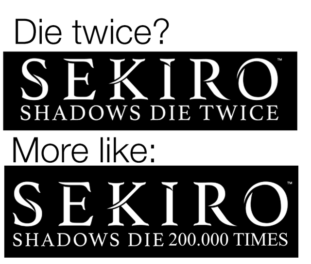 The Internet is in full swing discussing Sekiro: Shadows Die Twice. We collected the best jokes and funny moments | Kanobu - Image 3