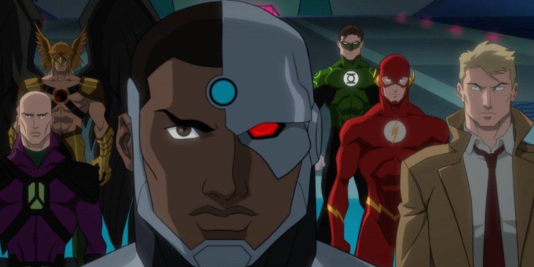 5мая состоялся релиз пятнадцатого ифинального мультфильма вовселенной DC«Темная лига справедливости: Война Апокалипса»(Justice League Dark: Apokоlips War). Ноназвать этот финал достойным довольно трудно.