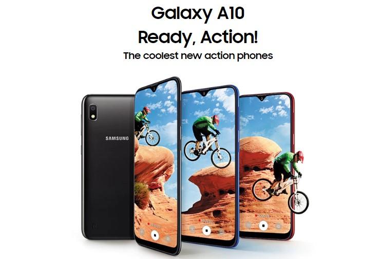 Представлен Samsung Galaxy A10: скромный смартфон сэкраном Infinity-V идвойной камерой   SE7EN.ws - Изображение 1