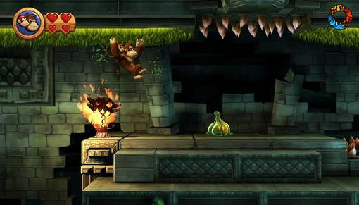 Donkey Kong Country Returns. Рецензия: банан с подвохом   Канобу - Изображение 7551
