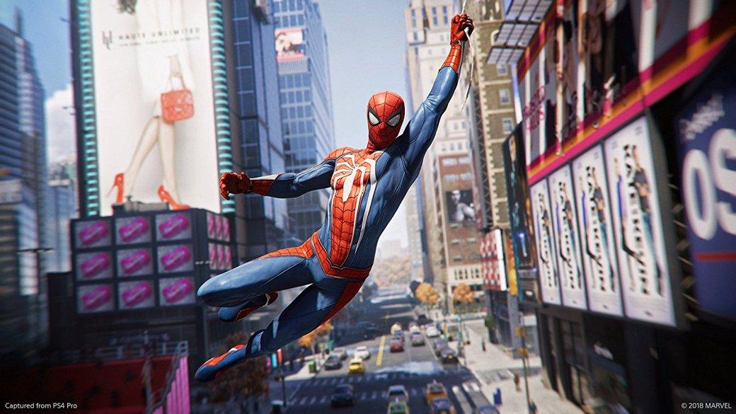 Взрывы, полеты имного паутины вновом ролике Spider-Man для PS4. Дорелиза меньше месяца!   Канобу - Изображение 12727