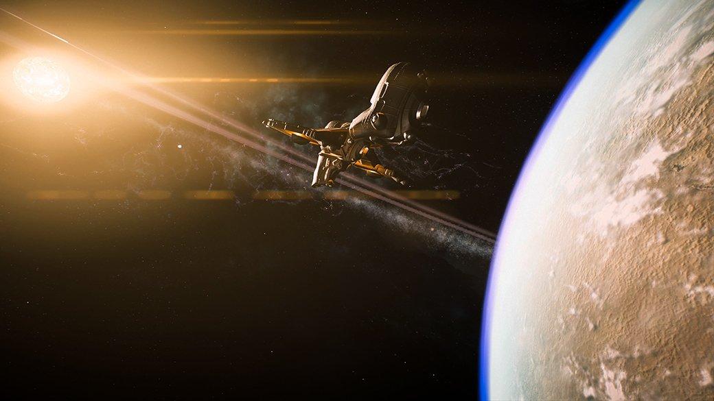 Потрясающий космос Mass Effect: Andromeda   Канобу - Изображение 9899