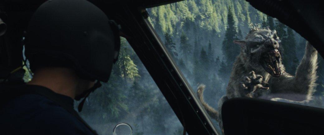 Огромные, жуткие животные иотважный Дуэйн Джонсон нановых кадрах фильма «Рэмпейдж». - Изображение 11