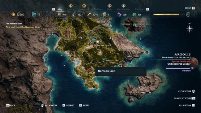 Гайд поAssassin's Creed: Odyssey. Где найти икак убить всех легендарных животных | Канобу - Изображение 3