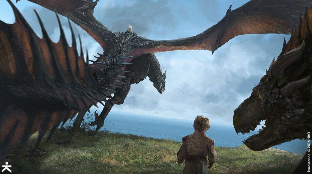 Взгляните напотрясающие концепт-арты 7 сезона «Игры престолов». - Изображение 3