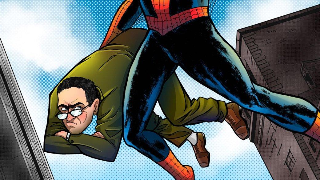 «Мы не можем показать, как писают на труп в комиксе о Человеке-Пауке»   Канобу