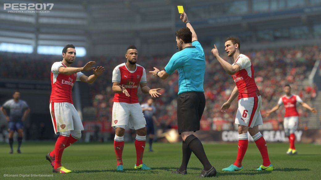 Рецензия на Pro Evolution Soccer 2017