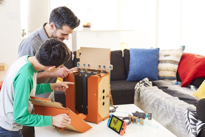Мнение. Nintendo Labo — НЕВЕРОЯТНО крутая штука. - Изображение 4