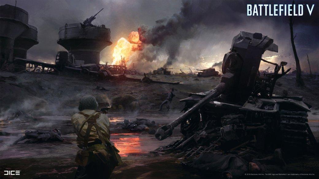 Взгляните на атмосферные концепт-арты и иллюстрации по Battlefield V   Канобу - Изображение 260