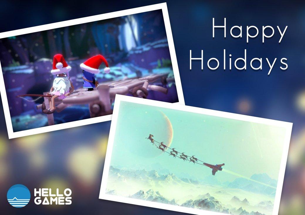 Издатели иразработчики поздравляют игроков сНовым годом иРождеством. Подборка открыток | Канобу - Изображение 6938